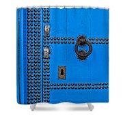 Blue Door Accents Shower Curtain