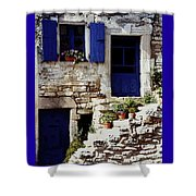 Blue Door Provence Shower Curtain