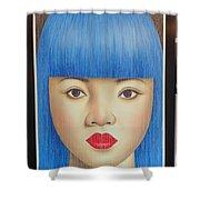 Blue Dream 78x55 Shower Curtain