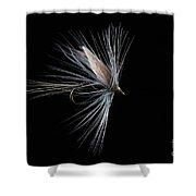 Blue Dun Shower Curtain