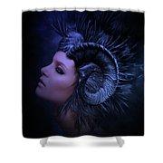 Blue Dusk Shower Curtain