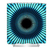 Blue Eye Shower Curtain