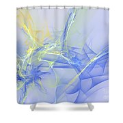 Blue For You Shower Curtain