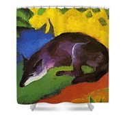 Blue Fox 1911 Shower Curtain