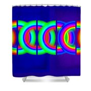 Blue Games Shower Curtain