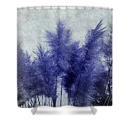 Blue Grass Shower Curtain