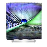 Blue Gypsy Shower Curtain