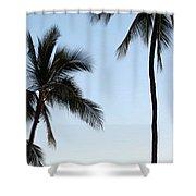 Blue Hawaiian Shower Curtain