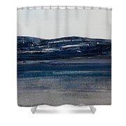 Blue Headland Back Home Shower Curtain