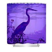 Blue Heron... Shower Curtain