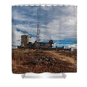 Blue Hill Weather Observatory 2 Shower Curtain