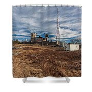 Blue Hill Weather Observatory Shower Curtain