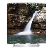 Blue Hole In Spring #1 Shower Curtain