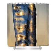Blue Ice 7 Shower Curtain