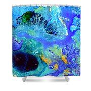 Blue Isles Shower Curtain