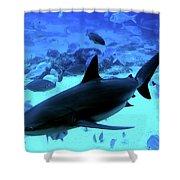 Blue Lagoon Shower Curtain