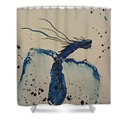 Blue Magic Shower Curtain by Ginny Youngblood