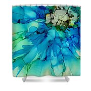 Blue Magnificence Shower Curtain