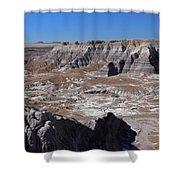 Blue Mesa Shower Curtain