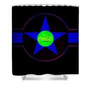 Blue Mood Shower Curtain