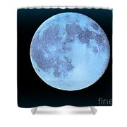 Blue Moonshine Shower Curtain