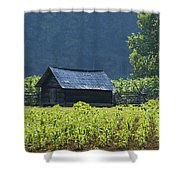 Blue Mountain Farm Shower Curtain