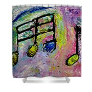 Blue Note Shower Curtain