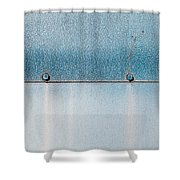 Blue Over Blue 03 Shower Curtain