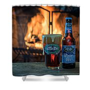 Blue Point Winter Ale By The Fire Shower Curtain