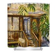 Blue Ridge Cabins Blue Ridge Mountains Shower Curtain