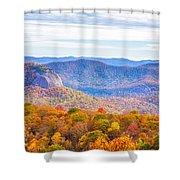Blue Ridge Mountains 1 Shower Curtain