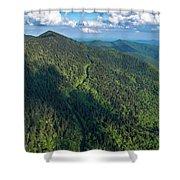 Blue Ridge Parkway At Balsam Gap Shower Curtain