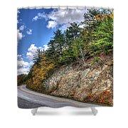 Blue Ridge Parkway, Buena Vista Virginia 3 Shower Curtain