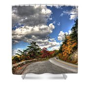 Blue Ridge Parkway, Buena Vista Virginia 4 Shower Curtain