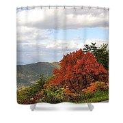 Blue Ridge Parkway, Buena Vista Virginia 5 Shower Curtain
