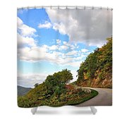 Blue Ridge Parkway, Buena Vista Virginia 6 Shower Curtain