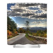 Blue Ridge Parkway, Buena Vista Virginia Shower Curtain