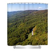 Blue Ridge Parkway4 Shower Curtain