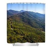 Blue Ridge Parkway5 Shower Curtain