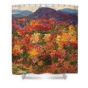 Blue Ridge Pastoral Shower Curtain