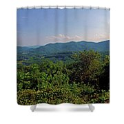 Blue Ridge Pkwy Shower Curtain