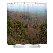 Blue Ridge View Shower Curtain