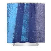 Blue Road Shower Curtain