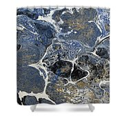Blue Rock One Shower Curtain
