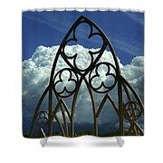 Blue Serenade Shower Curtain