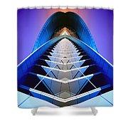 Blue Shift Shower Curtain