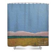 Blue Sky Shower Curtain