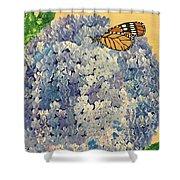 Blue Splendor Shower Curtain