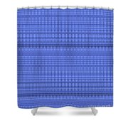 Blue Stripes Art On Gifts Shirts Pillows Tote Bags Phone Cases Shower Curtains Duvet Covers Pod Gift Shower Curtain