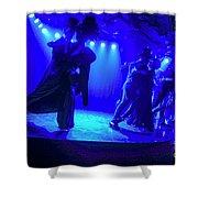 Blue Tango Shower Curtain